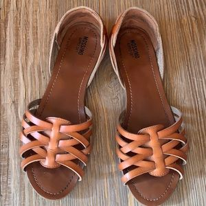 Missimo Brown/ Cognac Sandals